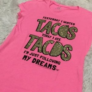 Justice tacos T-SHIRT